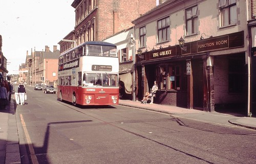 High Street, Burton upon Trent, 1985.