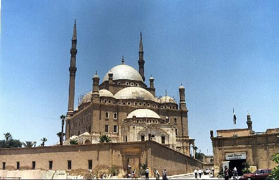The Alabaster Mosque, Cairo
