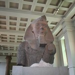 Colossal bust of Ramesses II, the