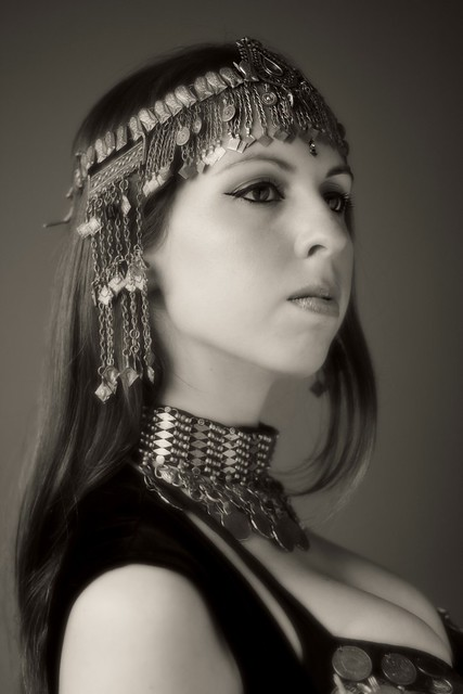 Bellydancer - Sofia by window light