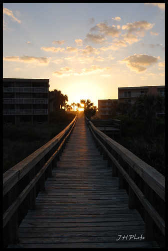sunset st boardwalk augustine
