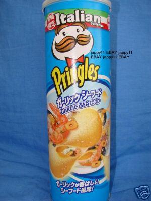 Garlic Seafood Pringles