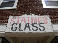 2nd street Lansdale-- sign lingers