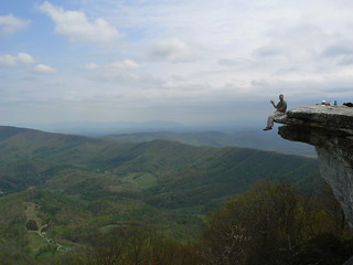 McAfee's Knob - Thomas Waves on Edge