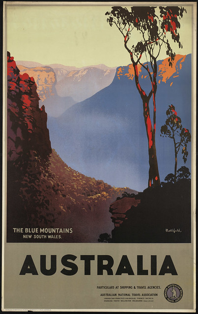 Australia, the Blue Mountains, New South Wales