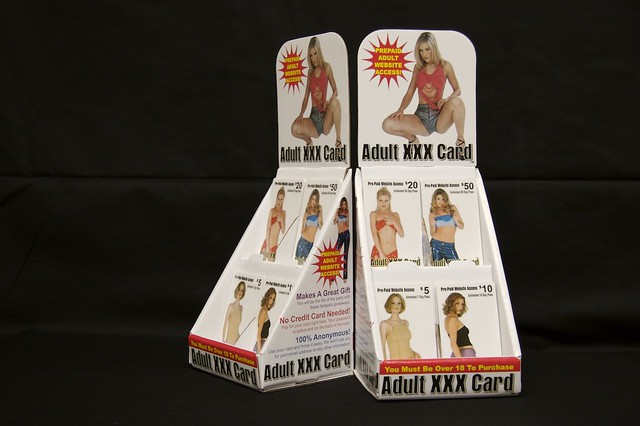 Prepaid Adult Cards 55