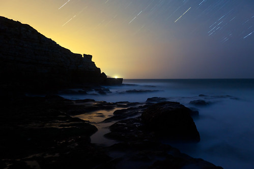 Extinction #3 (Jurassic Coast Star Trails), Dorset