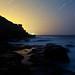 Extinction #3 (Jurassic Coast Star Trails), Dorset by flatworldsedge
