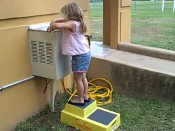 Kids Step Stool In A Fountain Www Shure Step Com By