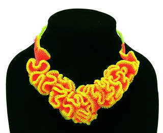 Jelly Coral Necklace