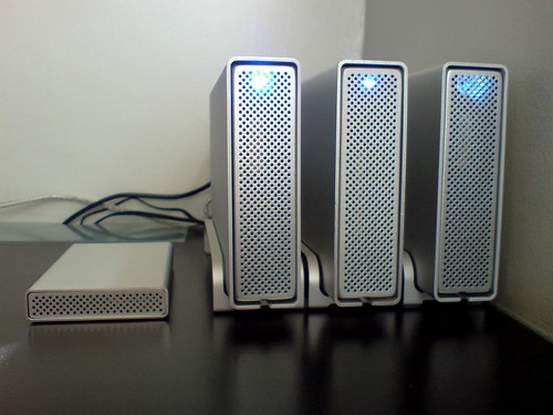 Photo:Hard drive array By:Shanghai Daddy