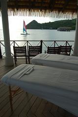 Massage Tables @ Sandals Grande