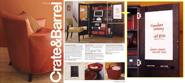 national dinner tour crate and barrel catalog flickr photo sharing. Black Bedroom Furniture Sets. Home Design Ideas