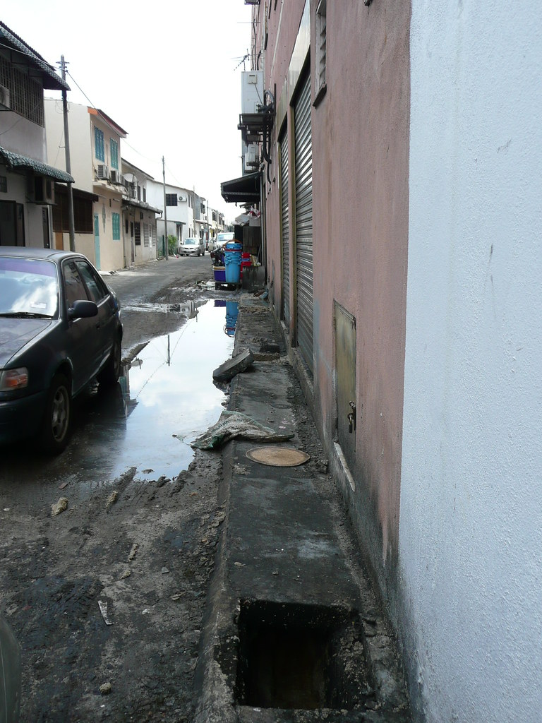 The Flooded Backlane II.