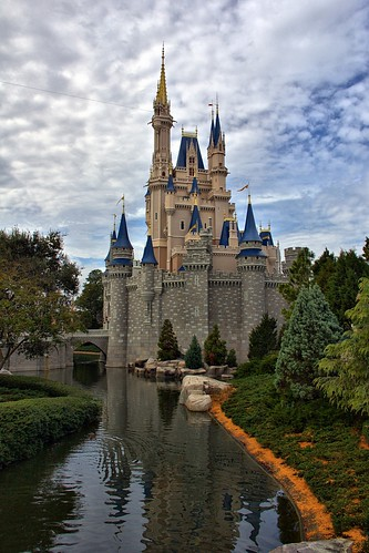 Disney - Castle From East