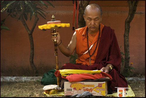 Praying for Tibet - Bodh Gaya