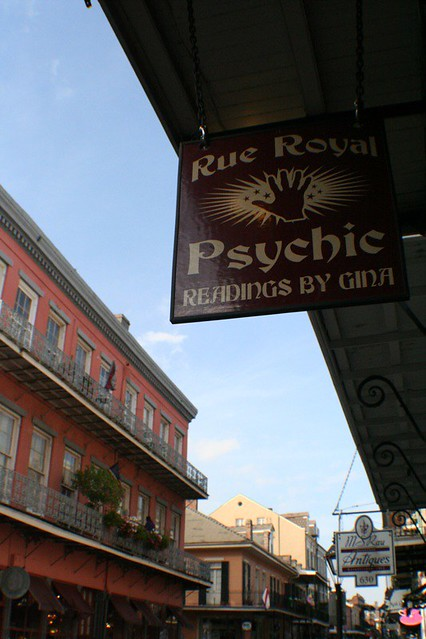 Rue Royal Psychic Readins, New Orleans French Quarter, 03