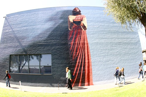 The devoted reflections for Biola jesus mural