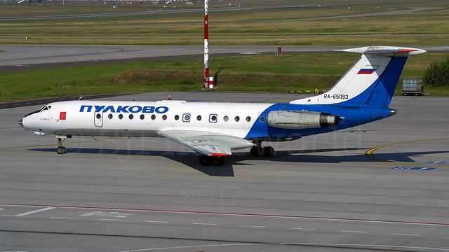 Pulkovo Tupolev Tu-134 RA-65093