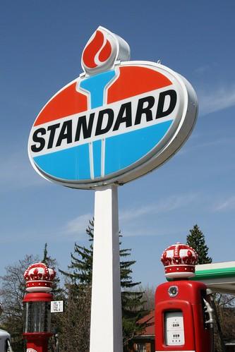 Standard Gas Station Sign