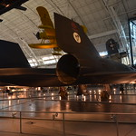 Steven F. Udvar-Hazy Center: SR-71 Blackbird (starboard tail view)