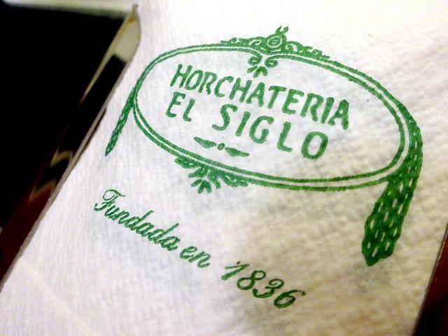 Horchateri El Siglo Valencia