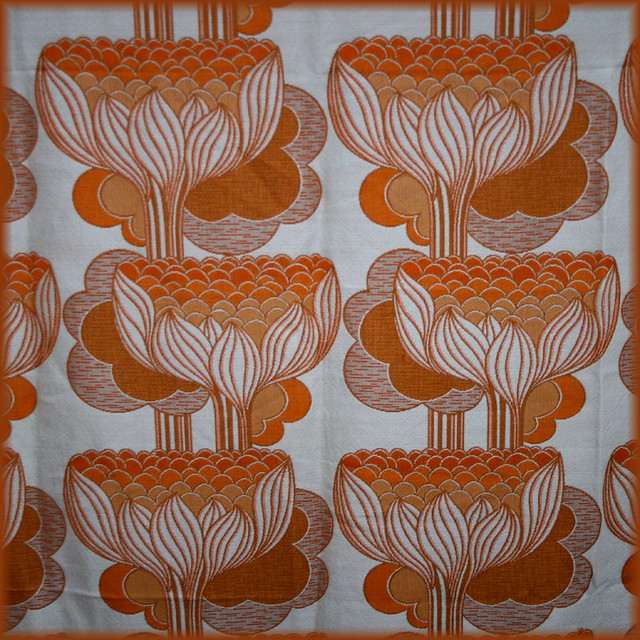 Art deco style vintage fabric flickr photo sharing for Art deco style fabric