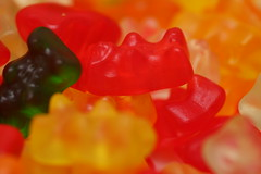 candy, confectionery, sweetness, wine gum, gummi candy, macro photography, food,