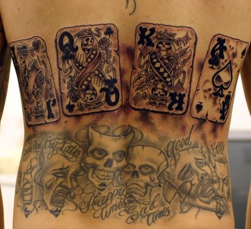 cards Tattoo