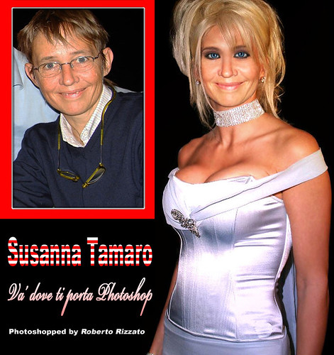 Susanna Tamaro Photoshopped
