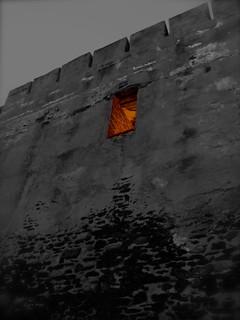 Image of Castillo Sohail. cameraphone españa castle architecture cutout spain arquitectura europa europe mediterranean mediterraneo euro andalucia espana costadelsol andalusia malaga castillo sohail benalmadena desat ⌘ byyourcommand byyour⌘ midnightgolfer