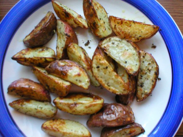 Oven Roasted Red Potatoes   Flickr - Photo Sharing!