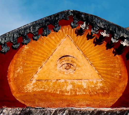 The Eye of the God . Holy Monastery of Vatopaidi - Ayio Oros - Greece.