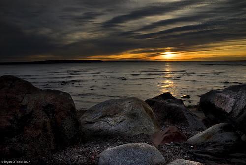 sunset ontario canada landscape nikon scenic superior soo lakesuperior saultstemarie northernontario layered nikkor1870mm d80 groscap nikond80