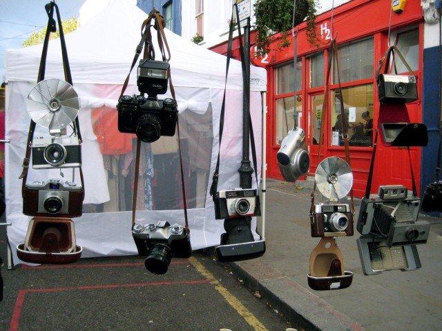 Cameras on Portobello Road