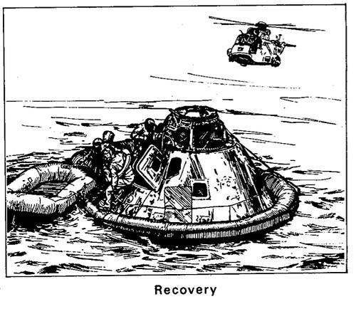 july 19  1969  u2013 nasa drawings of apollo 11 mission