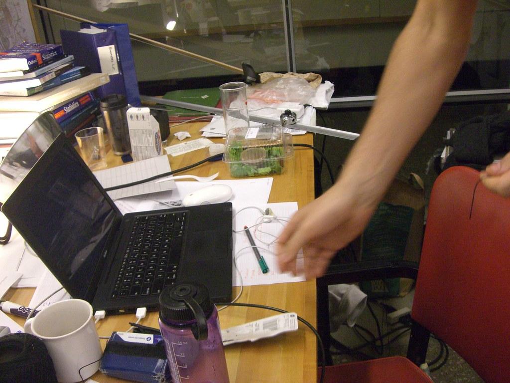 desk chaos