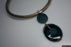 A Black Onyx Pendant by Pure Passion Jewelry