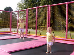 Trampolines, Rowntree Park York