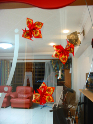 Some ang pow red packet decorations for chinese new year for Ang pow decoration