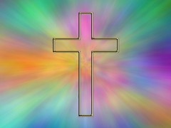 cross - plasma  - Christian Wallpaper desktop background by † David Gunter