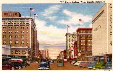 Lincoln Ne Looking West Along O Street From 13th Street 1 Flickr Photo Sharing
