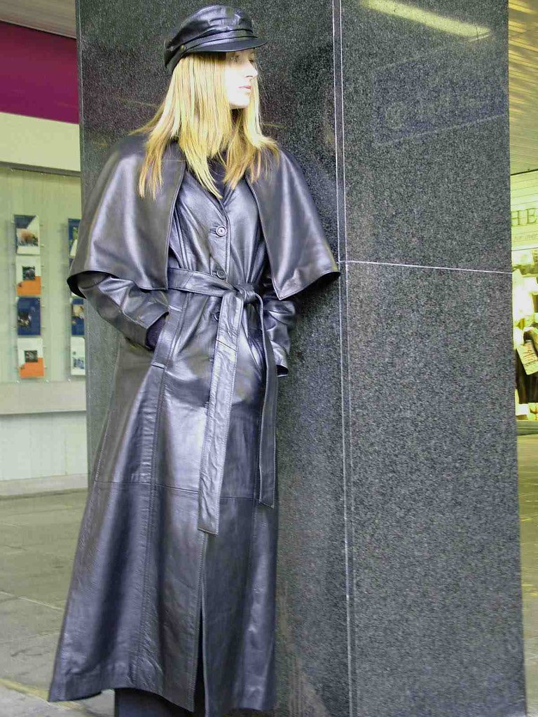 Flickr photos of leather coat