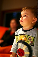 watching tv in the living room before bed    MG 0464