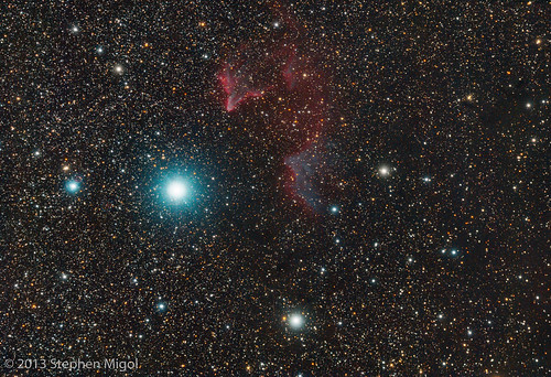 Ghost of Cassiopeia (IC 59 and IC 63) at Calstar 2013 by S Migol
