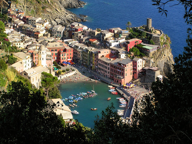 Picturesque village Vernazza