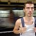 Moi dans le métro romain, mais ailleurs by William Hamon (aka Ewns)