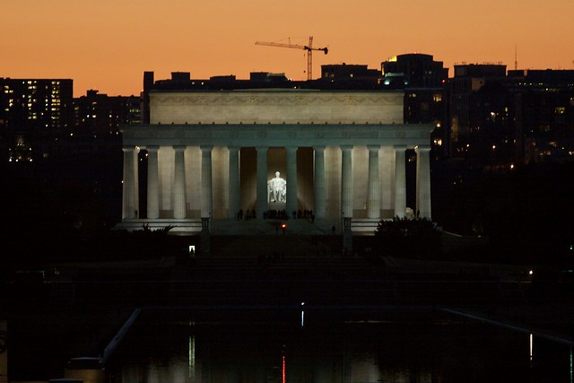 Lincoln Memorial in Early Evening