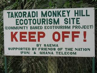 Only Monkeys Allowed?