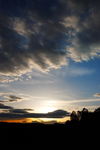 sunset sky color colors clouds nikon earth cielo terra supershot d80 nikond80 theunforgettablepictures